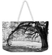 Window Oak - Bw Weekender Tote Bag