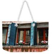 Window Of Venice Weekender Tote Bag