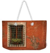 Window Of Vernazza Italy Dsc02633 Weekender Tote Bag