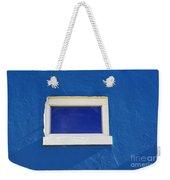 Window On Blue Weekender Tote Bag