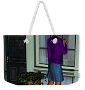 Window Shopper Weekender Tote Bag