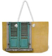 Window Shutter Weekender Tote Bag