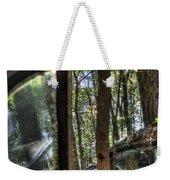 Window To A Window Via Tree Weekender Tote Bag