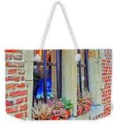 Window To Antwerp Weekender Tote Bag