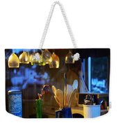 Window To My Kitchen Weekender Tote Bag by Brian Wallace