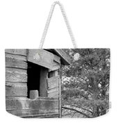 Window To Nowhere - Black And White Weekender Tote Bag