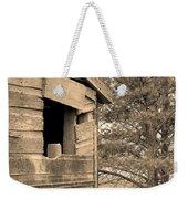 Window To Nowhere - Sepia Weekender Tote Bag