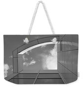 Window To The Sun - 4 - Bw Weekender Tote Bag