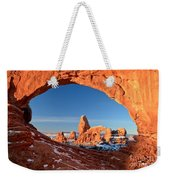 Window To Turret Arch Weekender Tote Bag