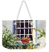 Window With Blue Trim Weekender Tote Bag