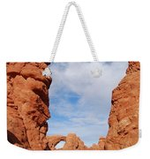 Windows And Turret Arches Weekender Tote Bag