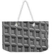 Windows In Black And White Weekender Tote Bag