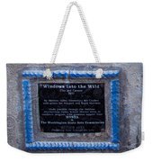 Windows Into The Wild Weekender Tote Bag