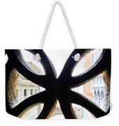 Windows Of Venice View From Palazzo Ducale Weekender Tote Bag