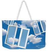 Windows To New World Weekender Tote Bag