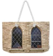 Windows Within The Catholic Walls Weekender Tote Bag