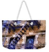 Windowscape 7 - Old Buildings Of New York City Weekender Tote Bag