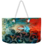 Winds Of Change - Abstract Art Weekender Tote Bag