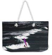 Windsurfing Man Weekender Tote Bag
