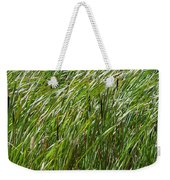 Windswept Cattails Weekender Tote Bag