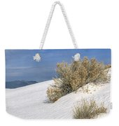 Windswept - White Sands National Monument Weekender Tote Bag