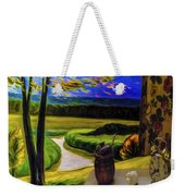 Windy Autumn With Still Life 05 Weekender Tote Bag