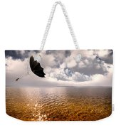 Windy Weekender Tote Bag