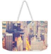 Windy City Lights - Chicago Weekender Tote Bag