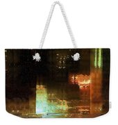 Windy City Night Weekender Tote Bag