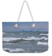 Windy City Skyline Weekender Tote Bag