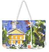 Windy Day At The Courthouse Weekender Tote Bag