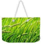 Windy Green Weekender Tote Bag