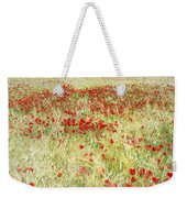 Windy Poppies At The Fields Weekender Tote Bag