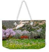 Windy Spring Day Weekender Tote Bag