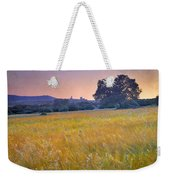 Windy Sunset At The Medieval Castle Weekender Tote Bag