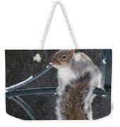 Windy Winter Day Weekender Tote Bag