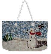 Windy Winter Weekender Tote Bag
