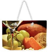 Wine And Cheese Weekender Tote Bag