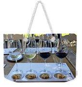 Wine And Cheese Tasting Weekender Tote Bag by Kurt Van Wagner