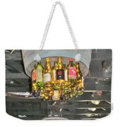 Wine Bottle Chandelier Weekender Tote Bag