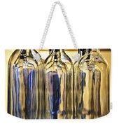 Wine Bottles Weekender Tote Bag by Elena Elisseeva