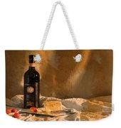 Wine Cherries And Cheese Weekender Tote Bag