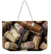 Wine Corks Celebration Weekender Tote Bag