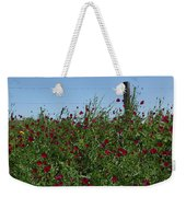 Wine Cups And Barbed Wire Weekender Tote Bag