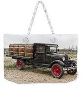 Wine Delivery Truck Weekender Tote Bag