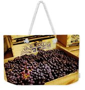 Wine Grapes Weekender Tote Bag