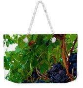 Wine Grapes On The Vine Weekender Tote Bag