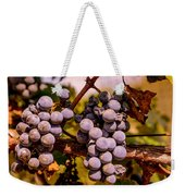 Wine Grapes On The Vine Weekender Tote Bag