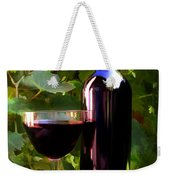 Wine In The Sunset Weekender Tote Bag