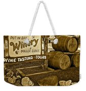 Wine Is Fine Weekender Tote Bag